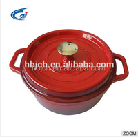 CAST IRON ENAMEL COOKWARE WITH COLORS