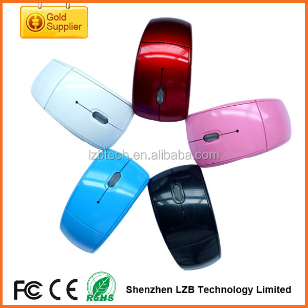 2.4Ghz wireless foldable mouse Best sale computer mouse wholesale folding mouse