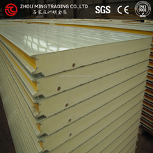 PU sandwich panel with green color