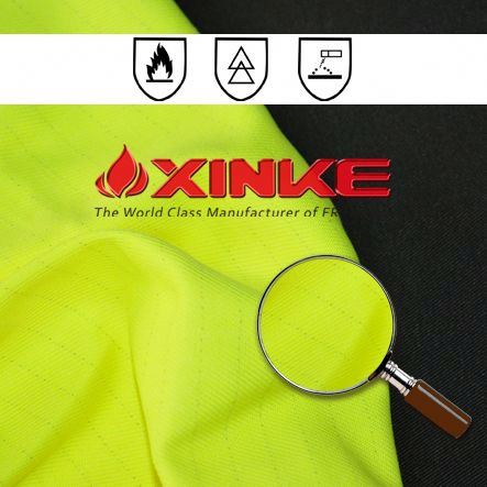 240g anti static acid polyester cotton alkali resistant fabric