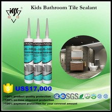 Anti fungus Non Yellowing neutral Kitchen and Bathroom Ceramic Tile Silicone Sealant