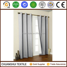 2 PANELS SILK BLACKOUT THERMAL GROMMET FOAM LINED WINDOW CURTAIN DRAPE SILVER