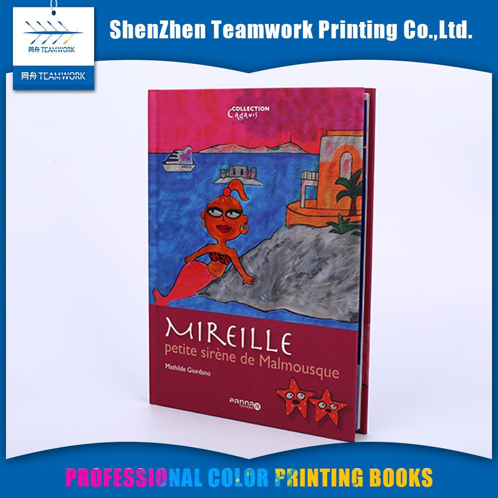 China High quality various cardboard custom book children book printing services