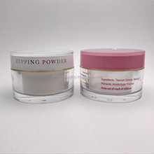 top quality wholesale 60ml dipping powder jar 2 oz cosmetic jars plastic