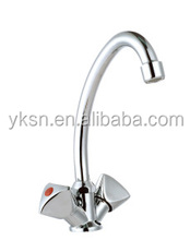 YAKE kitchen & bathroom faucet J shape ABS/stainless steel/brass/zinc faucet pipe fittings