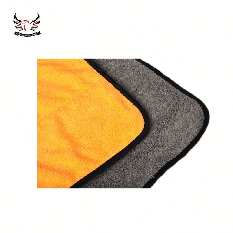 Wholesale Cheap Qualified 600gsm Supreme Shine Car Cleaning Microfiber Coral Fleece Detailing Towel