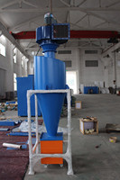 Glass plant dust control system