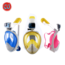 Liquid Silicone Dive Mask Helmet Goggles Diving With Underwater Camera