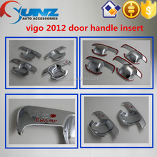 Pick up Hilux HILUX VIGO 2013 Door Handle Insert handle cover NEW CHROME ACCESSORIES best selling car accessories