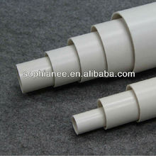 Factory Hot Selling White Asian PVC Pipe