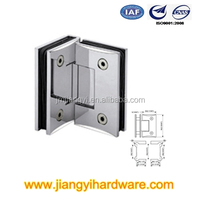 90 degree glass to glass mount soft close glass door hinge