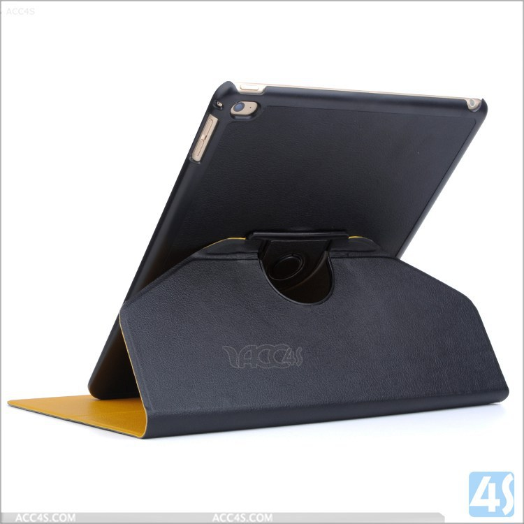 For Ipad air 2 360 rotation stand leather case