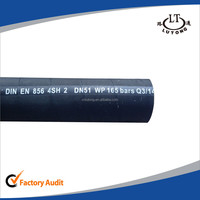 swaged hydraulic pipe fitting 4SH2 rubber hose