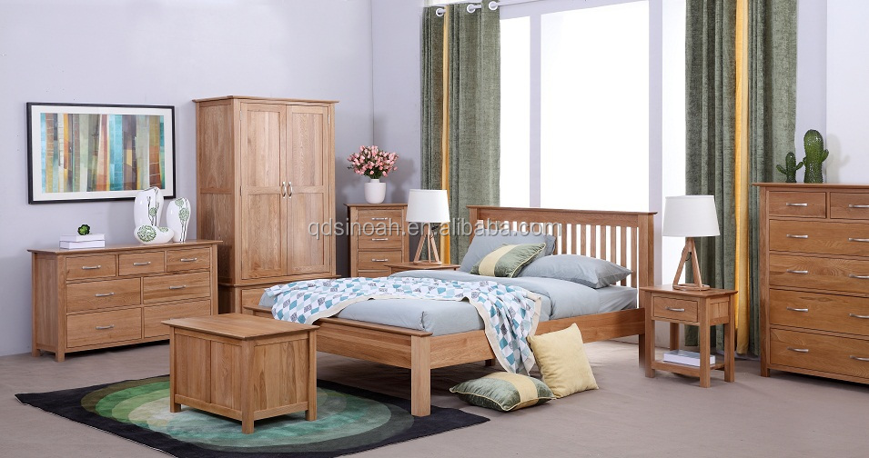 Solid Oak bedroom furniture new oak range UK