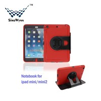 Universal PC Tablet Cover for iPad Mini with 360 degree Rotation Stand