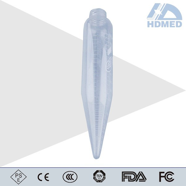 Length 200mm Long Cone Shaped Centrifuge Tube