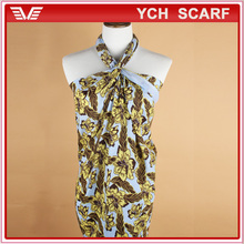 Indonesia Hot Sale fashion Flower Cheap Pareo,Sexy Sarong Dress