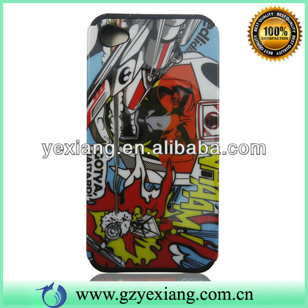 Graffiti Factory Price Cheap High Quality Protective Case For Iphone 4 Phone Cover