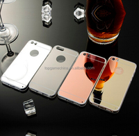 High-end Mirror TPU Cell Phone Case For iPhone 6 6S Soft Protect Back Cover