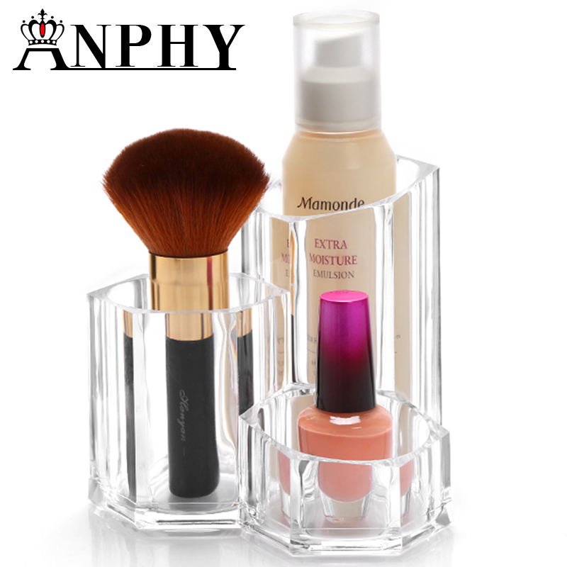ANPHY <strong>C118</strong> Brush Pot Shape Acrylic Makeup Display Rack Box