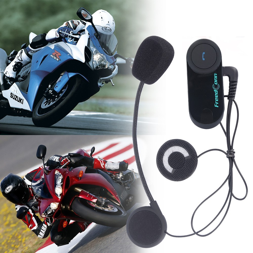 Trading Products TCOM VB Portable Wireless Bluetooth Interphone Headset with BT Communication System for Motor Riders