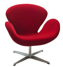 Leisure hotel arm lounge swan chair replica HYS-E07S