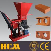 Eco brava ecological manual price cement block machine