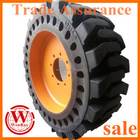 6 / 8 inch pilot hole bolt pattern industrial skid steer wheels uk