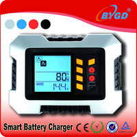 Intelligent 12v battery chargers for motorcycle