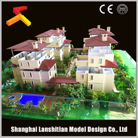 Modular house building model manufactures in China