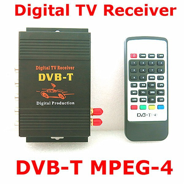 DVB-T MPEG-4 car Digital TV receiver dvb-t tv turner Compatible with DVB-T(SD)MPEG2 and MPEG4 AVC/H.264 perfectly
