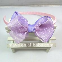 Butterfly Polyester Ribbon And Nylon Hair Band MY0916742