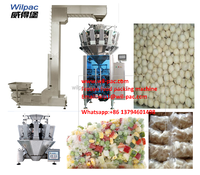 Good price 10 heads weigher vertical packing machine with CE certification for frozen seafood
