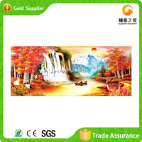 Factory supply painting and calligraphy diamond picture 3d decoration wall scenery painting