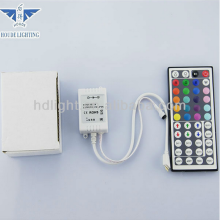 Popular Decoration WHOLESALE PRICE OEM&HOUDE IR Remote Controlled SMD5050 RGB LED Strip Light with 44Key IR Remote Controller