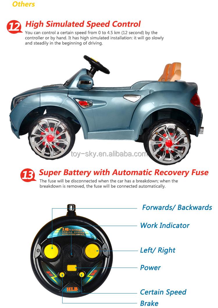Children 39 S Electric Car 2 Driving Motors High Power 2 4g