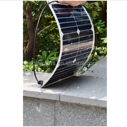2018 new 18W price of bifacial solar panels cost in turkey for RV/Boat/Golf cart/Marine/Yachts/Home use