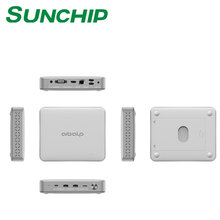 Hot selling MINI PC CX-W11 FROM SUNCHIP ! Battery Powered Intel N3450 Apollo Lake 4GB RAM N3450 MINI PC With HDMI VGA Win10