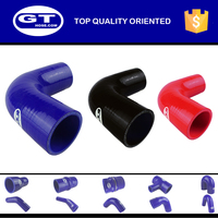 Elbow 90 degree blue Turbo Hose Silicone Tube for Auto high temperature silicone hose exhaust silicone hose