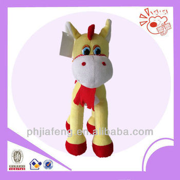 2013 for plush cute horse toy