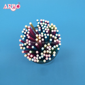 Customized lollipop stick clear colored paper lollipop sticks