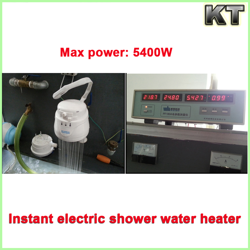 220v 127v 110v bathroom portable quick heating instant electric shower water heater