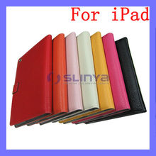 10 Inch Color Leather Smart Note Book Hand Bag Lady Case for iPad Air