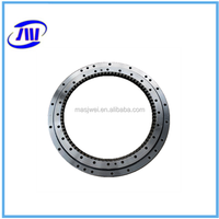 Excavator special steel ball bearing for double row angular contact