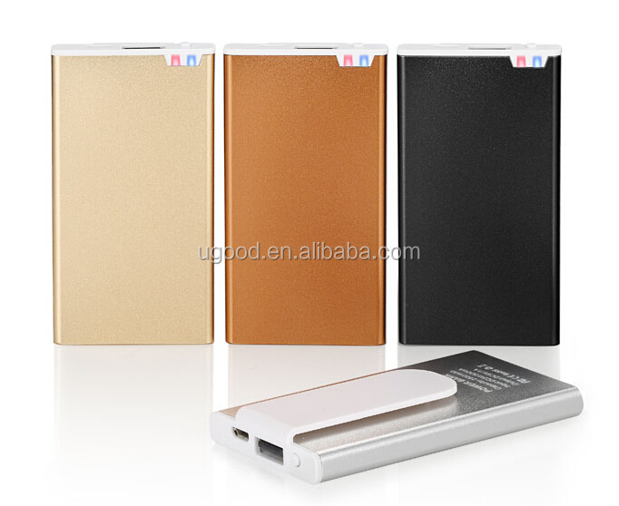 New arrival colorful gifts Aluminum power bank,hot sale USB port mobile portable charger,best travelling laptop battery