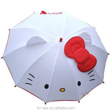 PN Hello Kitty cartoon umbrella advertising umbrella lovely Automatic kid umbrella