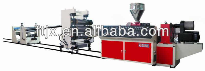 FT PVC PE PP PC PET Plastic Sheet / Board Machine Production line