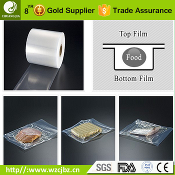 high clarity nylon pe plastic forming roll vacuum packaging thermoforming film for food