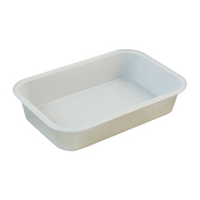 White Rectangle Inflight Aluminum Foil Casseroles