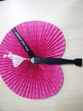 paper hand fan folding party favor decoration colorful choose colors